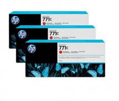 Ink HP Designjet 771C červená barva | 775 ml | 3 pcs