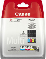 Canon cartridge CLI-551 C/M/Y/BK PHOTO VALUE BL sec