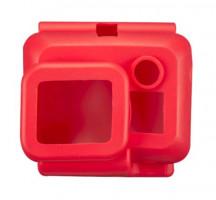 Mantona silikonový obal pro GoPro Hero3 červená
