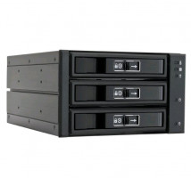Chieftec CBP-2131SAS 2x5.25inch bays for 3x3.5/2.5inch HDDs/SSDs, aluminium