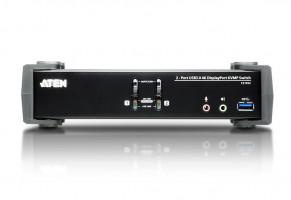 ATEN KVM switch CS-1922, 2-Port USB 3.0 4K DisplayPort (4K,USB 3.1 Gen 1)