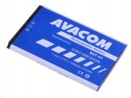 AVACOM Baterie do mobilu Sony Ericsson X10 a X1 nebo X2, Li-ion, 3,6V, 1500mAh, náhrada BST-41