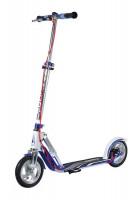 Hudora City Big Wheel Air 205 Bílá dual brake
