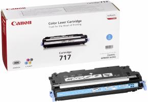 Canon toner CRG-717C/ LBP-53x0/ MF-8450/ 4000 stran/ Modrý