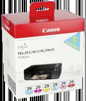 cartridge Canon PGI-29Multi - CMY/PC/PM/R - originální