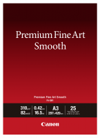 Canon fotopapír Premium FineArt Smooth A3 25 sheets