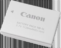Canon NB 5L - Baterie fotoaparátu Li-Ion 1120 mAh - pro PowerShot S110; PowerShot ELPH SD790, SD850