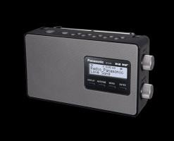 Panasonic RF-D10EG-K, Černé rádio
