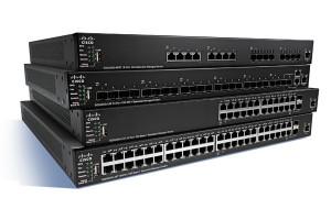 Cisco SG350X-24P 24-port Gigabit POE Stackable Switch