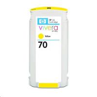 cartridge HP C9454A no. 70 - yellow - kompatibilní HP Z2100, Z3100 130ml