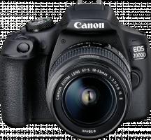 Canon EOS 2000D sada + EF-S 18-55 IS II