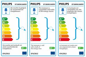 Philips Hue White Tuar LED Venkovní Lamp steel
