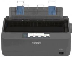 EPSON LQ-350, A4, 24 jehel, 347 zn/s, 1+3 kopii, USB 2.0, LPT