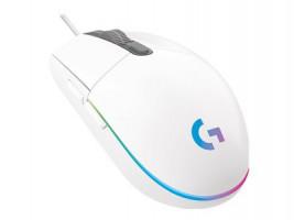 Logitech G102 Lightspee d Gaming Mouse White