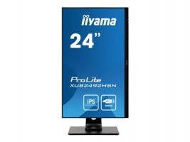 iiyama ProLite XUB2492HSN-B1 16:9 4ms USB HDMI DisplayPort VESA Pivot Speaker Full HD černá