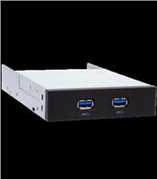 """CHIEFTEC interné box do 3,5"""",2x USB3.0,čierny (MUB-3002)"""