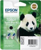 EPSON ink čer 400/ 440/ 460/ 500/ 600/ 640/ 660/ 670/ 700/ 710 double pack (C13T05014210)