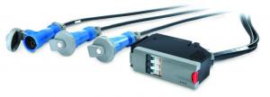 APC modul rozvodu napájení IT, 3x1pólový 3vodičový 32A 3xIEC309 300 cm, 360 cm, 420 cm