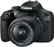 Canon EOS 2000D + EF-S 18-55mm DC III Value Up Kit
