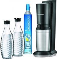 SodaStream Crystal 2.0 - Černá + 2 Láhve