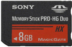 Sony paměť Stick Pro HG Duo HX 8GB Class 4