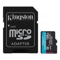 KINGSTON microSD 128GB Canvas Go Plus 170/90MB/s adaptér