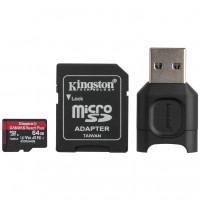 Kingston Canvas React Plus - 64 GB - microSDXC UHS-II