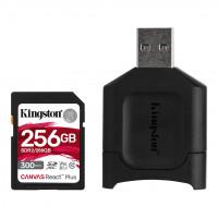 Kingston Canvas React Plus - 256 GB - SDXC UHS-II