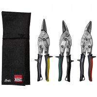 Bessey Set of aviation snips s snips pouch DSET16