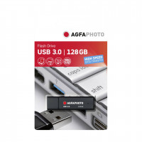 AgfaPhoto USB 3.0 cerna 128GB