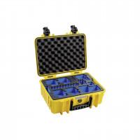 B&W GoPro obal typ 4000 Y zluta s GoPro 8 Inlay