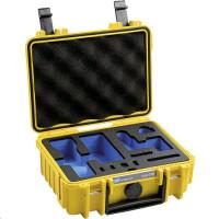B&W Gimbal Case Type 500 Y yellow pro DJI Pocket 2