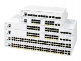 Cisco CBS350-48P-4X-EU network switch Managed L2/L3 Gigabit Ethernet (10/100/1000) Silver