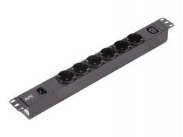 APC EPDU1010B-SCH Easy PDU Basic 1U 10A 6SCH,1C13