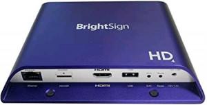 BrightSign H.265, Full HD, mainstream HTM