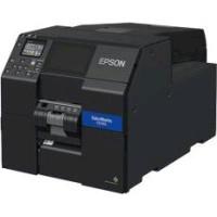 Epson ColorWorks CW-C6000Ae (mk), cutter, disp., USB, Ethernet, black