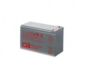 CSB sada 2 baterií GPL1272 F2 12V/7.2Ah, long life