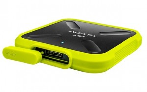 ADATA SD700 SSD USB 3.1 1TB, zápis/čtení 440/440 MB/s žlutý