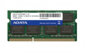 ADATA Premier 16GB DDR3 1600MHz / SO-DIMM / CL11 / KIT 2x 8GB
