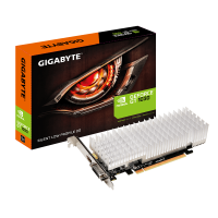 Gigabyte GeForce GT 1030 Silent Low Profil 2G, 2GB, DVI/HDMI