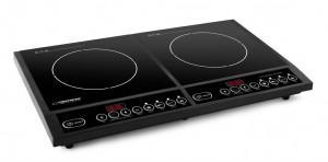 Esperanza EKH0058 Dvouzónový indukční vařič 2000W, černý