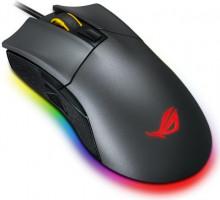 ASUS Rog Gladius II USB Optický 12000DPI Pro praváky i leváky Černá myš