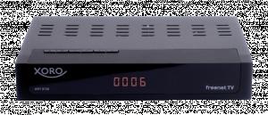 Xoro HRT 8730, černý set-top-box