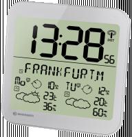 Bresser MyTime Meteotime LCD stříbrná barva