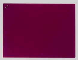 NAGA Magnetic glass board 60x80 purple (10370)