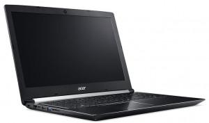 """Acer Aspire 7 (A715-71G-70C0) i7-7700HQ/8 GB+N/256GB SSD M.2+1TB/GTX 1050Ti 4GB/15.6"""" FHD LED LCD matný/BT/W10Home/Blac"""