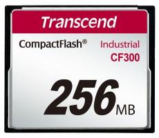 Transcend 256MB INDUSTRIAL CF300 CF CARD, vysokorychlostní 300X paměťová karta (SLC)