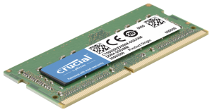 Crucial 16GB, DDR4, 2400, 8GBx2, SODIMM, 260pin, pro Mac