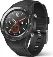 Huawei Watch 2, 4G carbon black, Chytré hodinky