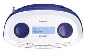 Lenco SCD-69 modrá barva, CD přehrávač